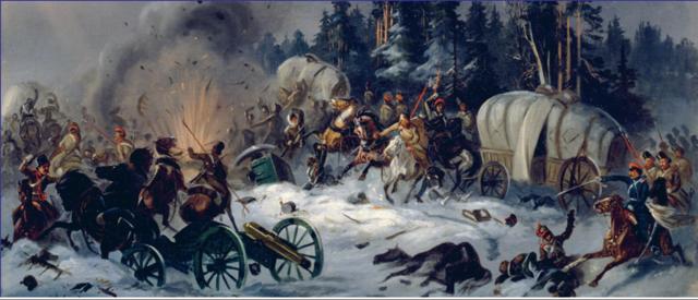 Napoleon napade RUSIJO.