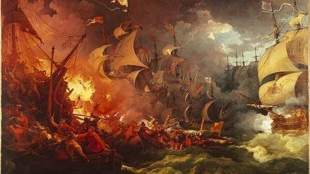 Inicio del fin de la Armada Invencible