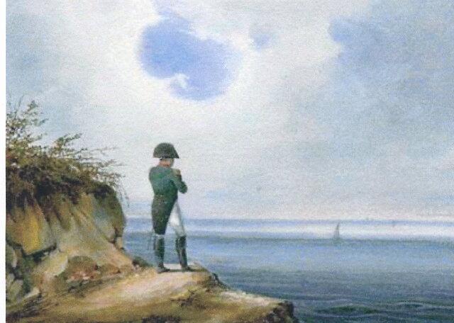 Napoleona izženejo na Elbo.