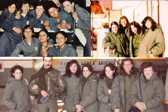 Veteranas de la guerra de Malvinas
