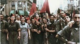 Sublevación militar y Guerra Civil (1936-1939). Dimensión política e internacional del conflicto. Evolución de las dos zonas. Consecuencias de la guerra. timeline