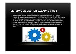 Sistemas de gestión basados en web.