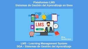 Sistemas de gestión de aprendizajes(LMS).