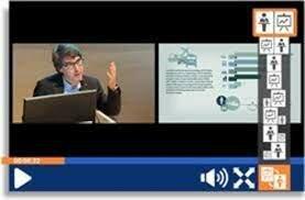Captura de conferencia para la grabación.