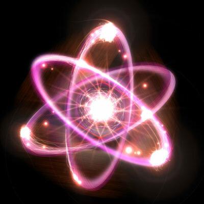Evolución del modelo atómico timeline