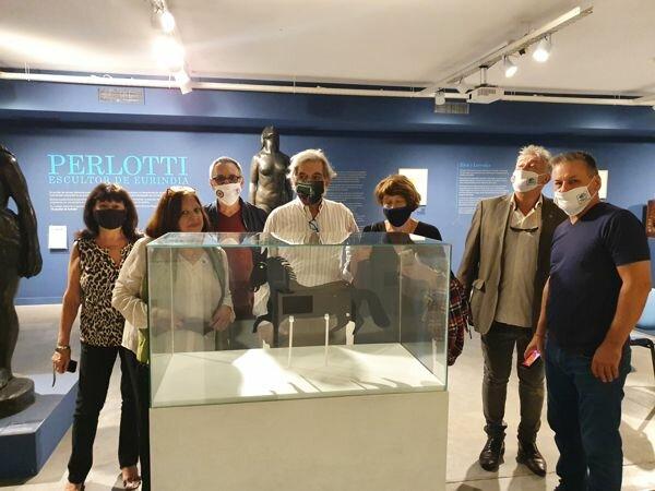 en 2021 la veleta esta en un museo que se llama museo perlotti