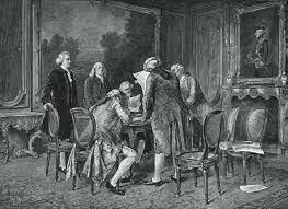 Signature du traité de Paris