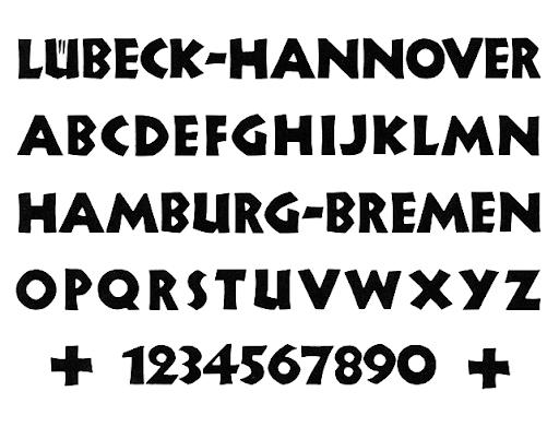 Nueland Typeface