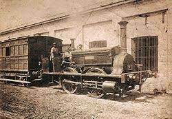 Se inauguro el Ferrocarril del Oeste