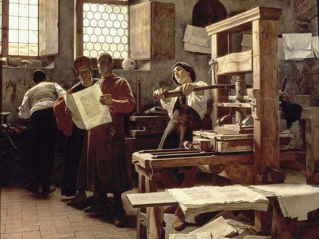 Hecho significativo: Invención de la imprenta