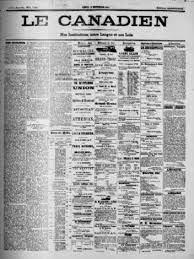Fermeture du journal Le Canadien en 1810