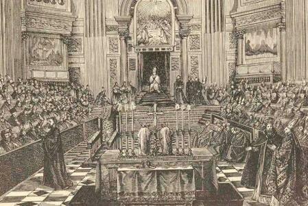 Influencia de la iglesia.