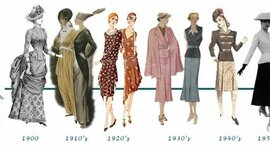 Fashion through the ages timeline
