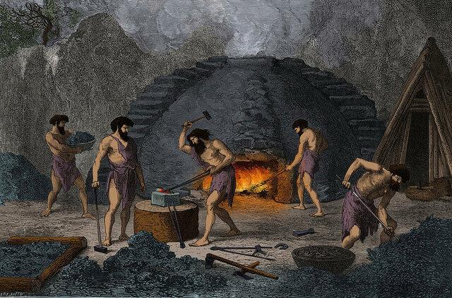 The Iron Age (500 BC. - 332 BC.)