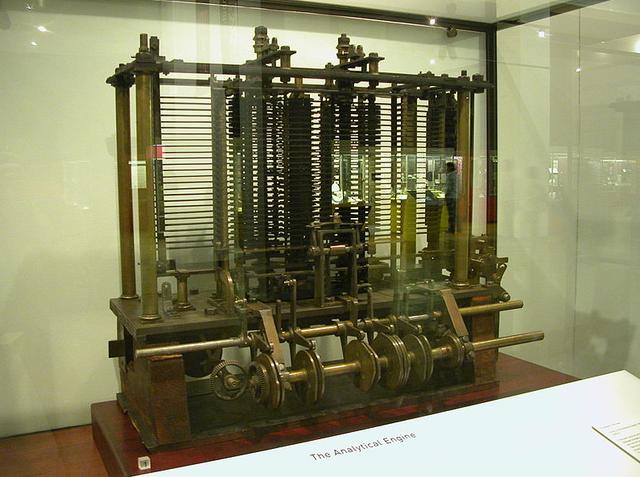 Creación de la Máquina Análitica