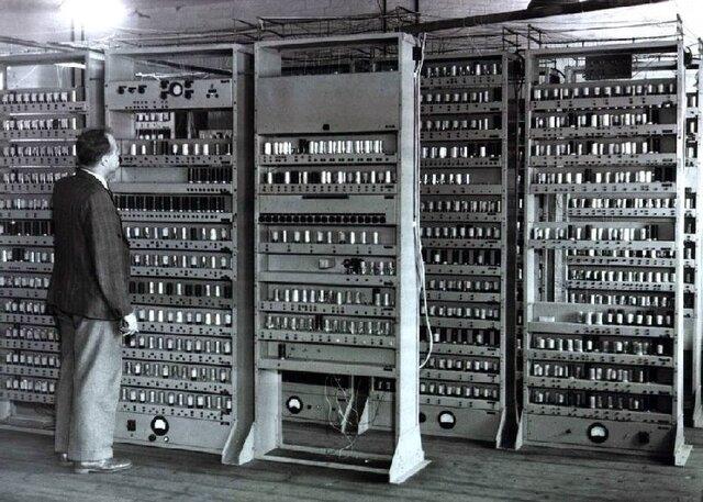 Primera generación de ordenadores (EDVAC)