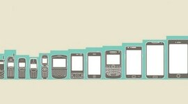 EVOLUCION DE LOS DISPOSITIVOS MOVILES timeline