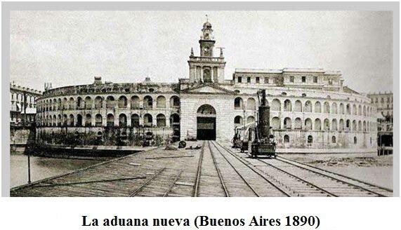 Creación de la Aduana de Buenos Aires.