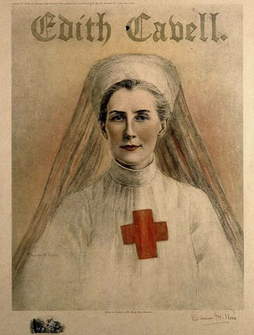 Execution of Edith Cavell