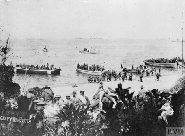 Gallipoli Campaign Begins