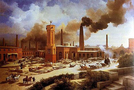Siglo de la industrialización.