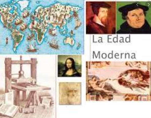 EDAD MODERNA  1492-1789