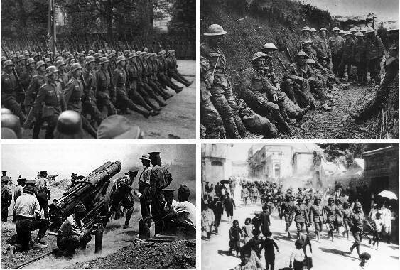 Primera guerra mundial (1914-1918)