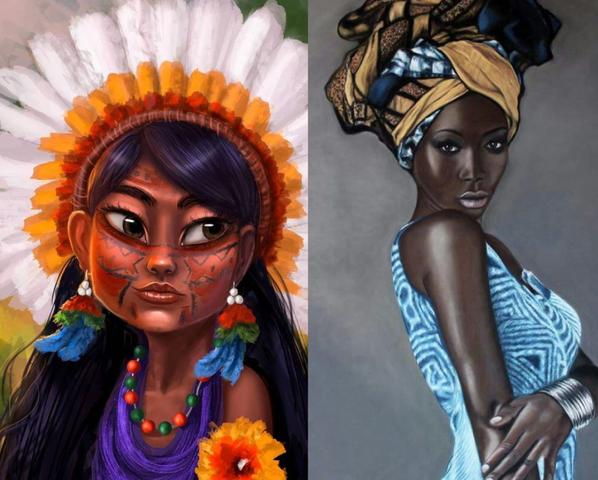 Indígenas, afrocolombianos y comunidad negra