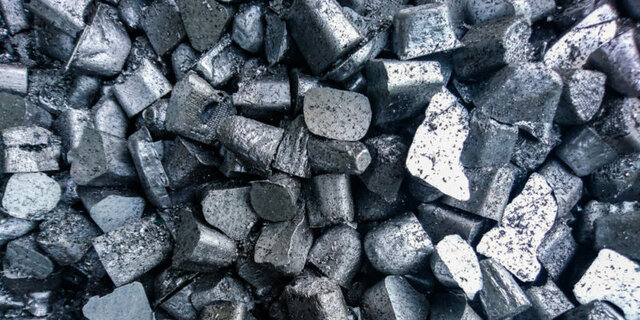 Se separa el aluminio de su mineral