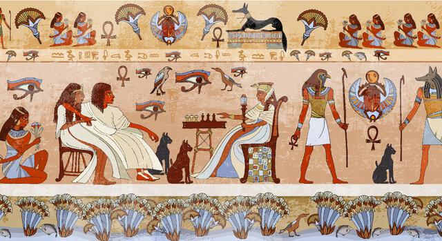 Ancient Egypt (3100–2686 BC.)