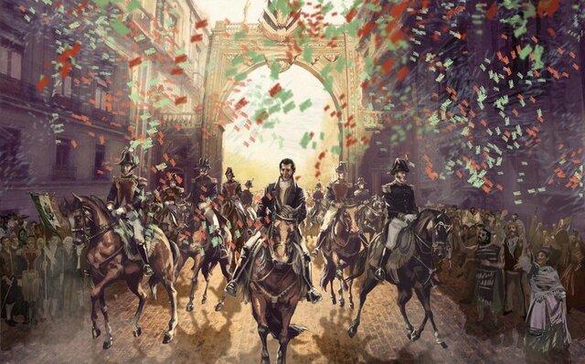 1821 Ejercito Trigarante