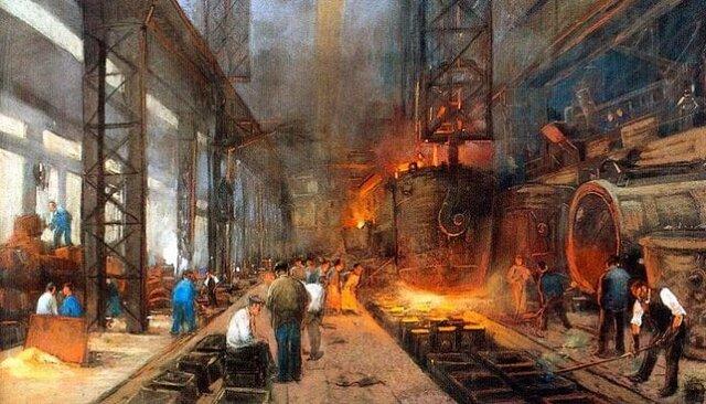 Ingreso de America Latina a etapa de Revolucion Industrial