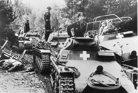 Calcagno debió regresar a causa de la invasión alemana