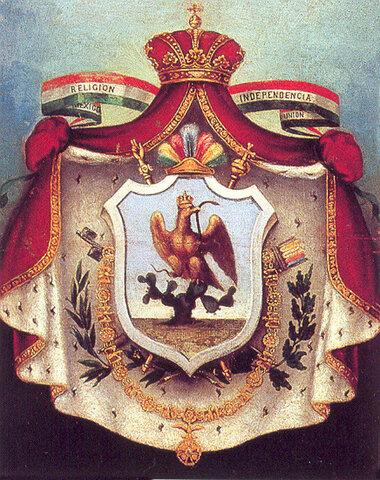 1822 Primer Imperio Mexicano