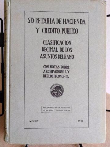 1928 La secretaria de  Hacienda