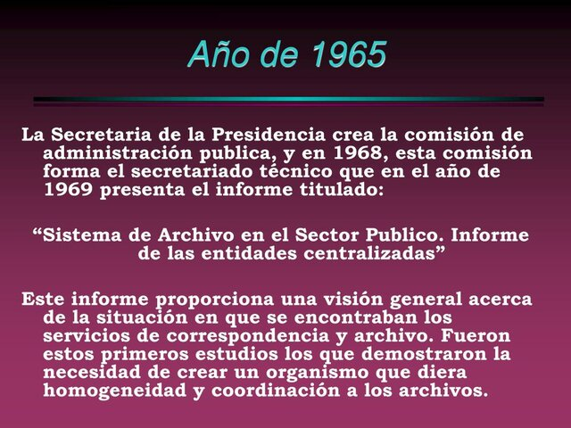 1965 Comisión de Administración Pública