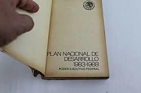 1983 - 1988 Plan Nacional de Desarrollo