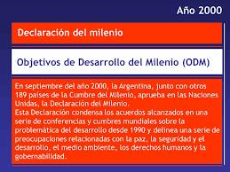2000 Declaración del Milenio