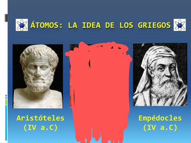 Empedocles- Aristóteles
