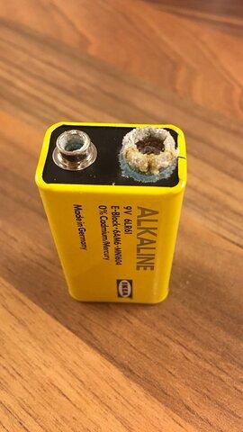 Batería Alcalina normal