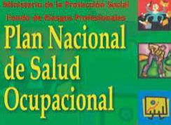 1954 COLOMBIA  PLAN DE SALUD OCUPACIONAL