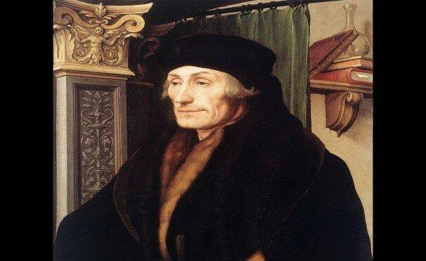 ERASMO DE ROTTERDAM (1466-1536).