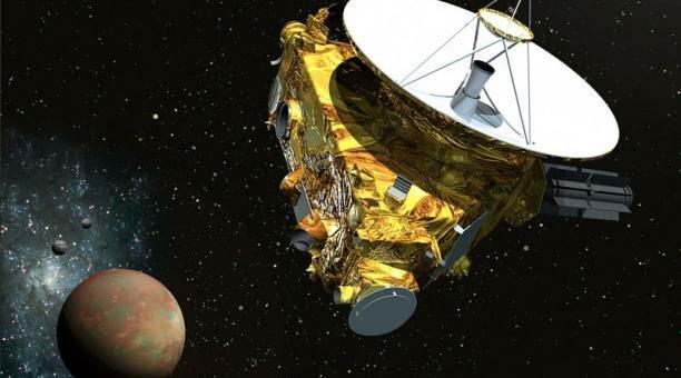 Misión Espacial new horizons