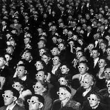 First 3-D Film