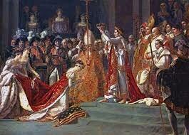 Proclamación de napoleón como emperador de Francia