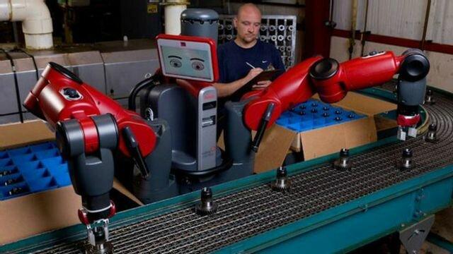 Baxter, el robot trabajador