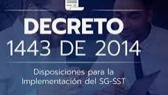 2014,COLMBIA DECRETO 1443