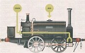 The first railway that the Argentine Republic would have: