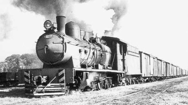 Máquina de vapor aplicada al transporte