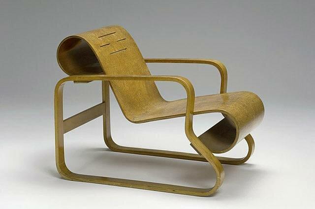 Silla Paimio de Alvar Aalto